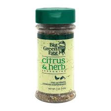 Big Green Egg Seasoning: Citrus and Herb