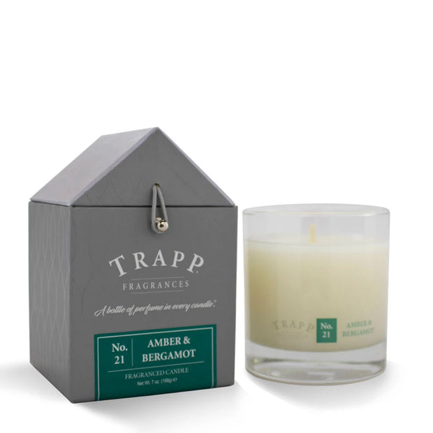 Trapp Candle No 21 Amber Bergamon