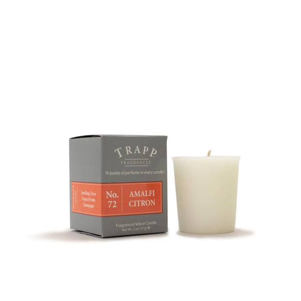 Trapp Candle Votive No 72 Amalfi Citron