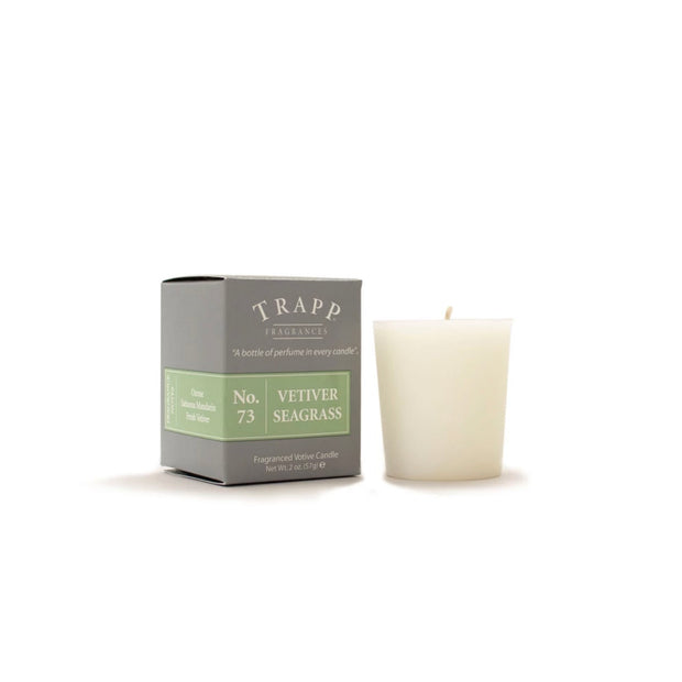 Trapp Candle Votive No 73 Vetiver Seagrass