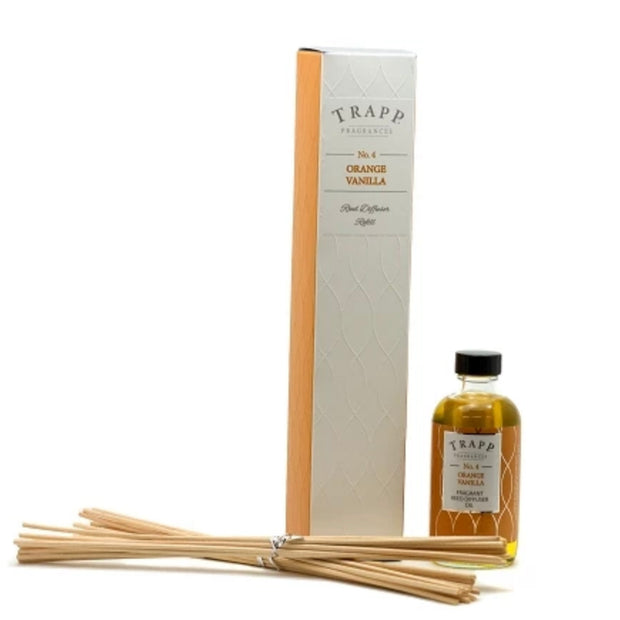 Trapp No 4 Orange Vanilla Diffuser Refill