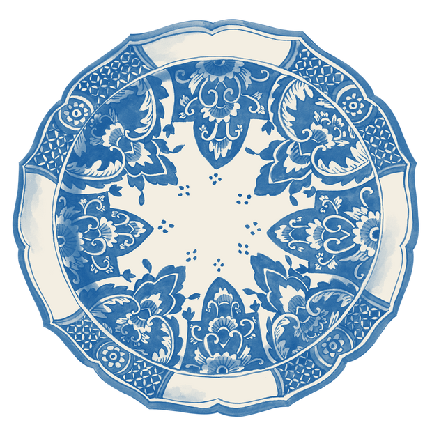 Hester & Cook China Blue Placemats - 12 pk