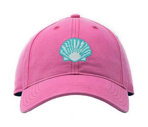 Scallop On Bright Pink Hat