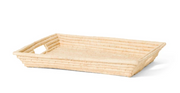 Kazi Natural Rectangular Raffia Tray