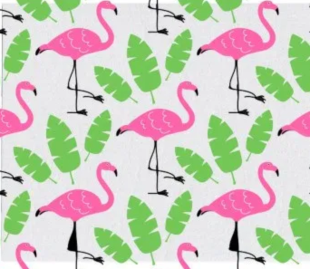 Euroscrubby Flamingo Dishcloth