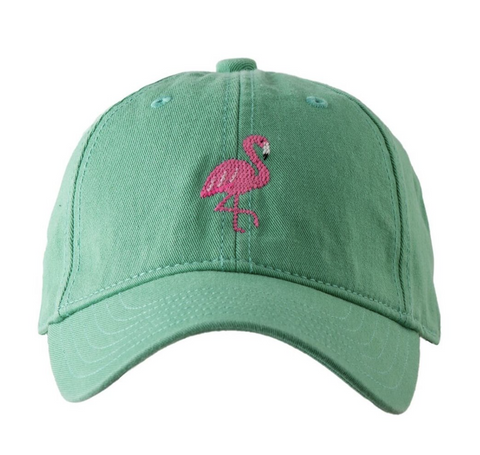 Kid's Flamingo on Green Hat