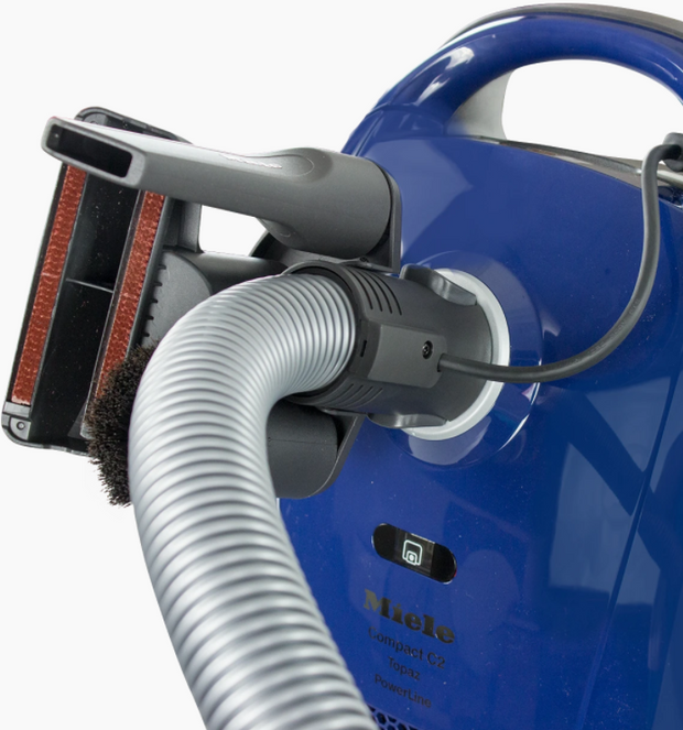 Miele Compact C2 Electro+ Canister Vacuum - Marine Blue
