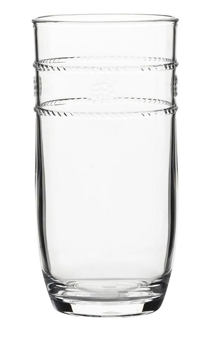 Juliska Isabella Acrylic Clear Large Beverage