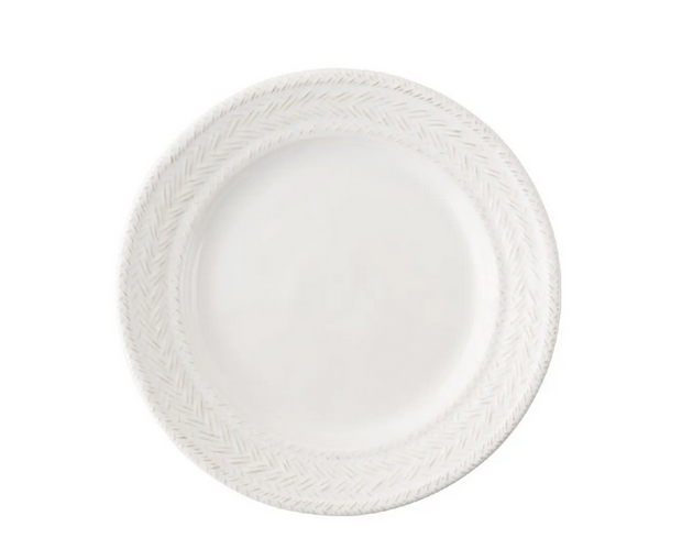 "Juliska Le Panier Whitewash 7"" Side/Cocktail Plate"