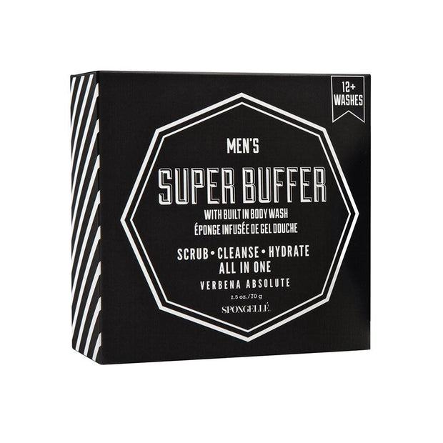 Spongelle - Men's Verbena Super Buffer