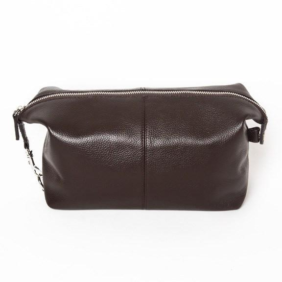 Standford Toiletry Bag Brown