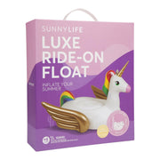 Sunnylife Luxe Ride-On Float Unicorn