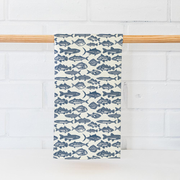Toadfish Coastal Kitchen Tea Towel