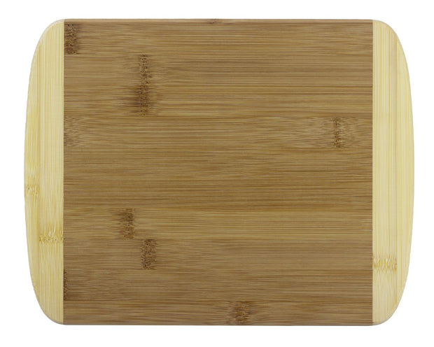Totally Bamboo 11in. 2-Tone Cutting Board