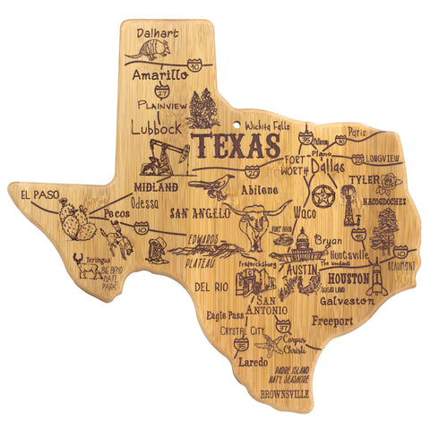 Totally Bamboo Destination Texas Cutting / Serving Board