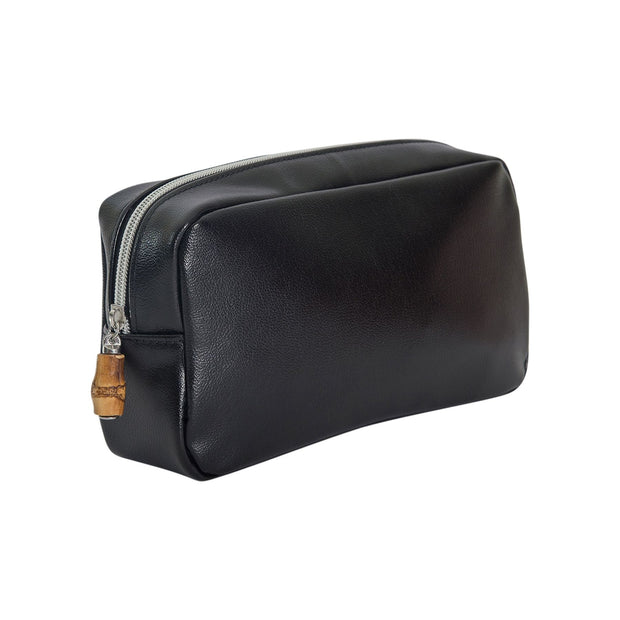 Glam Bag Cosmetic Pouch - Black