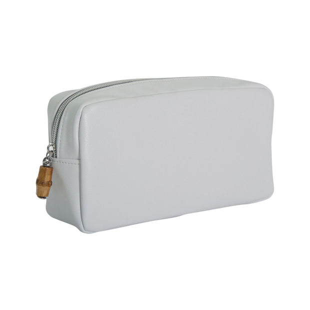 Glam Bag Cosmetic Pouch - White