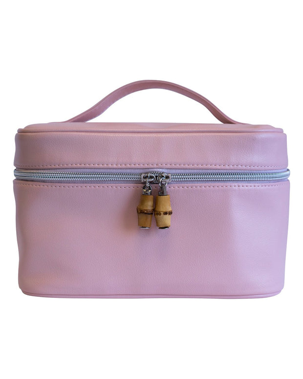 Globetrotter Train Case Dopp Kit - Blush
