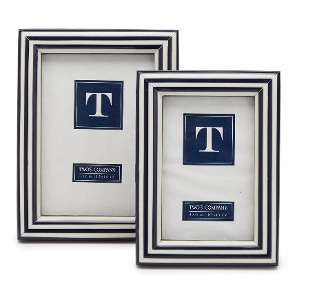 Two's Company 4X6 Striped Frame