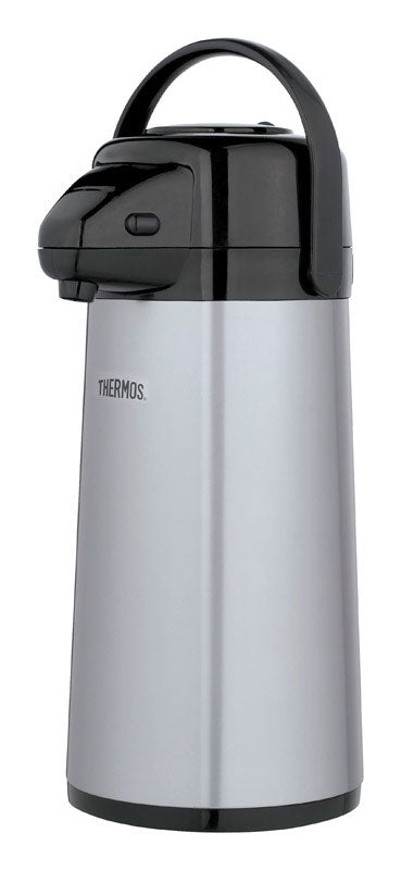 Thermos Stainless Steel Carafe - Black/Silver