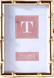 Two's Company 4X6 Rose Gold Frame