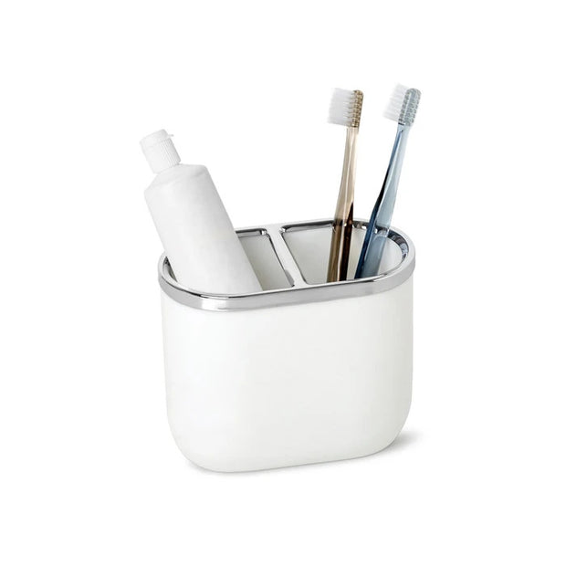 Umbra Junip Toothbrush Holder - White