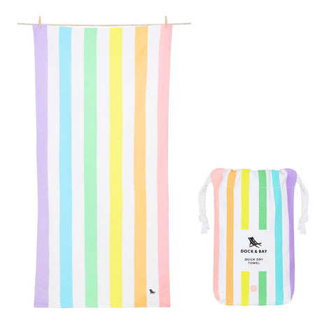 Dock & Bay Extra Large Quick Dry Towel - Unicorn Waves
