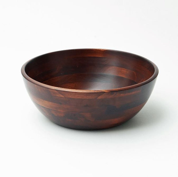 Cherry Wood Salad Bowl 14in