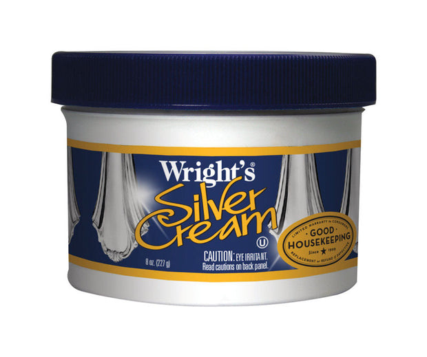 Wrights Mild Scent Silver Polish - 8 oz
