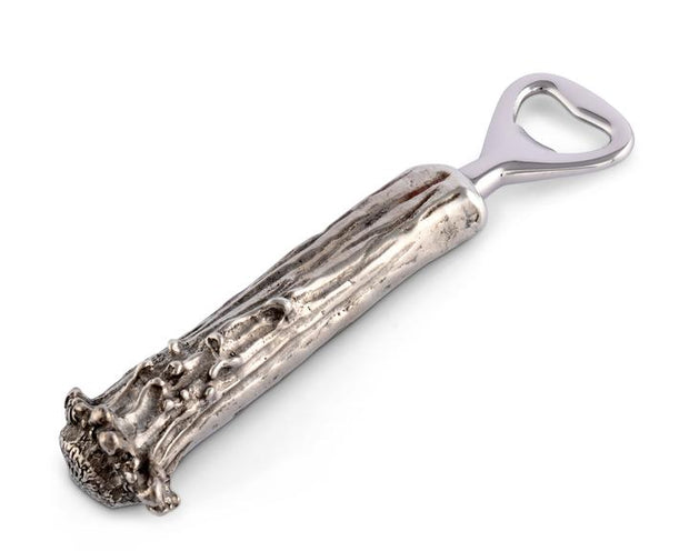 Pewter Antler Bottle Opener