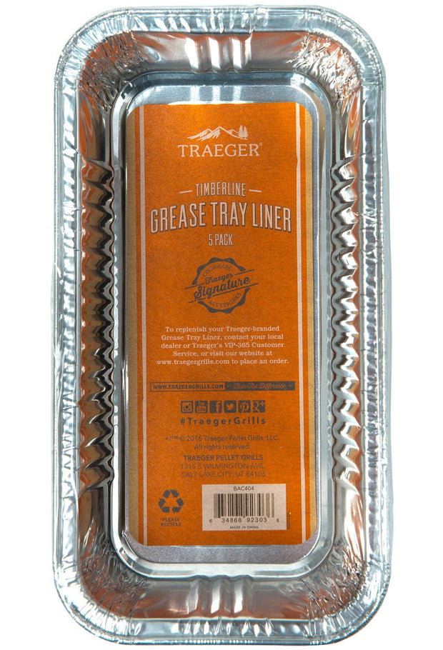 Traeger Timberline Grease Pan Liner - 5 Pack