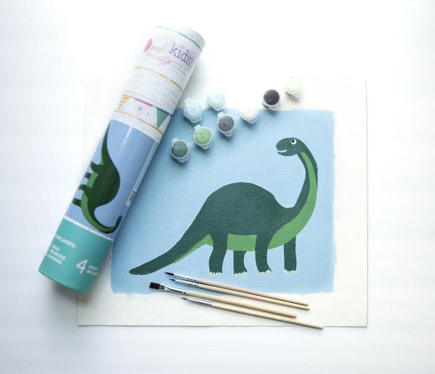 Paint by Numbers Canvas Kit for Kids - Donnie Dino
