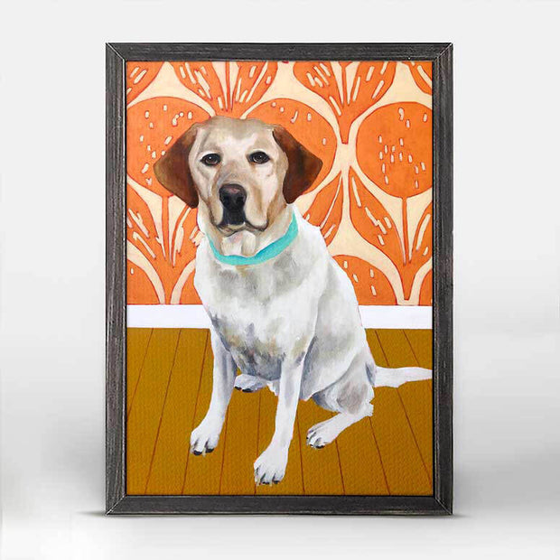 Dog Tales - Thatcher Mini Framed Canvas 5x7