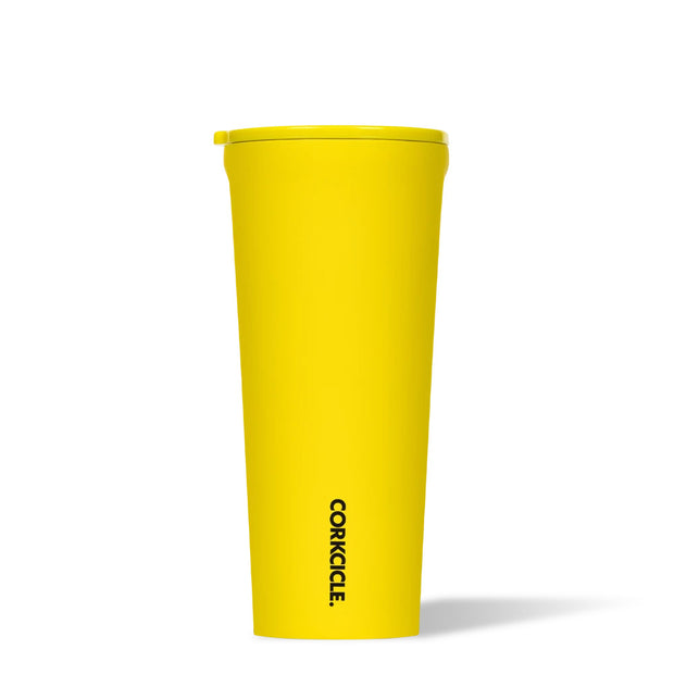 Corkcicle Neon Lights Tumbler 24oz - Neon Yellow