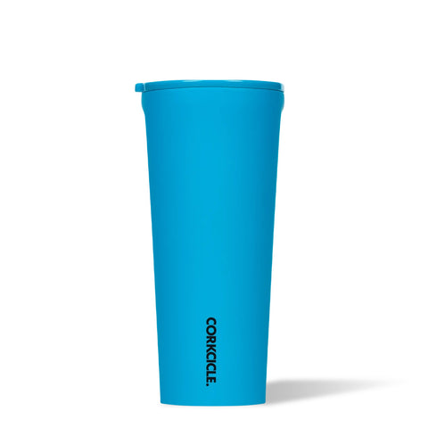 Corkcicle Neon Lights Tumbler 24oz - Neon Blue