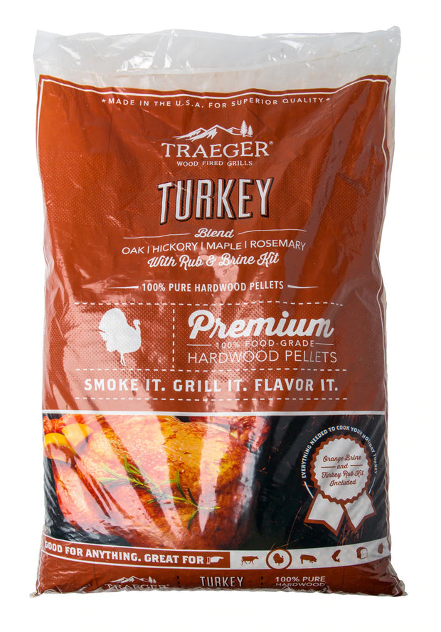 Traeger Turkey Blend w/ Brine Kit Wood Pellets - 20lb