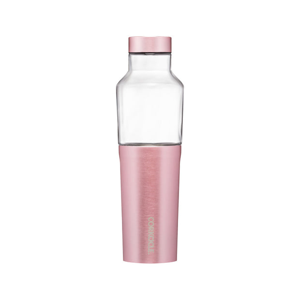 Corkcicle Hybrid Canteen 20oz - Rose Metallic
