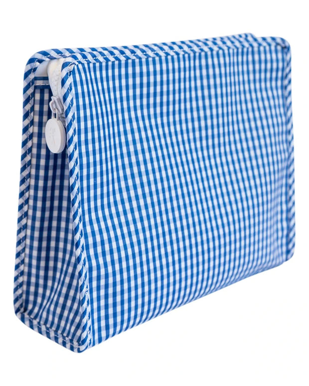 Gingham Roadie Large Pouch