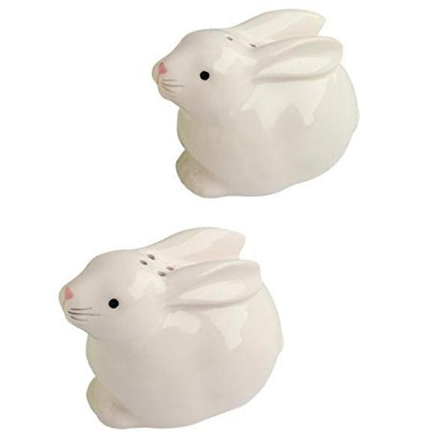 Bunny Ceramic Salt & Pepper Shaker Set of 2