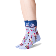 Women's Mermaids Crew Socks