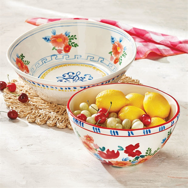 Fiori Tall Serving Bowl
