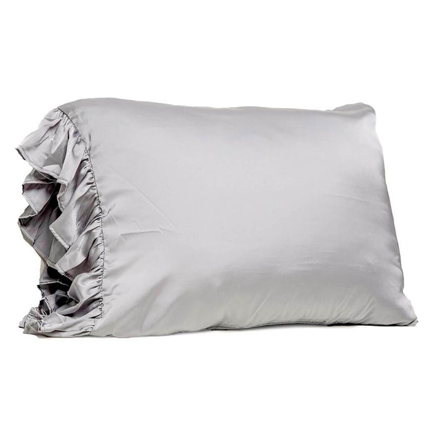 Silky Pillowcase - Gray