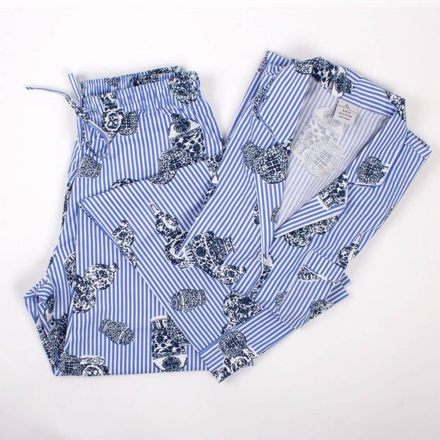 Ginger Jar Printed Pajama Pants Set