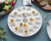 Classic Pewter Deviled Egg Tray