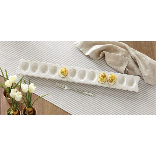 Long Deviled Egg Tray Set