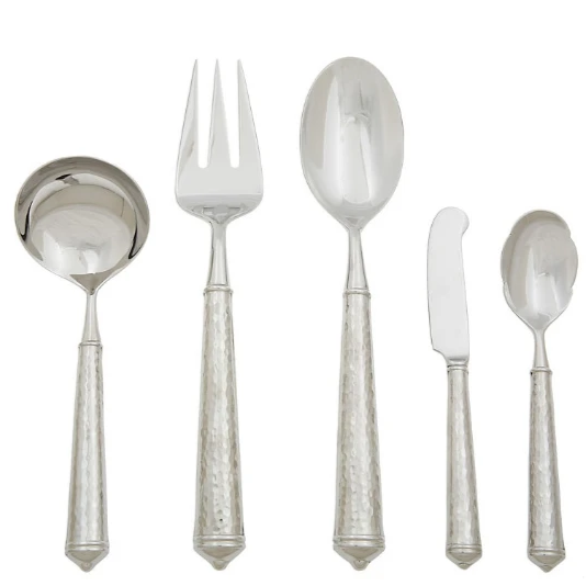 Ricci 5PC Leopoardo Hostess Set