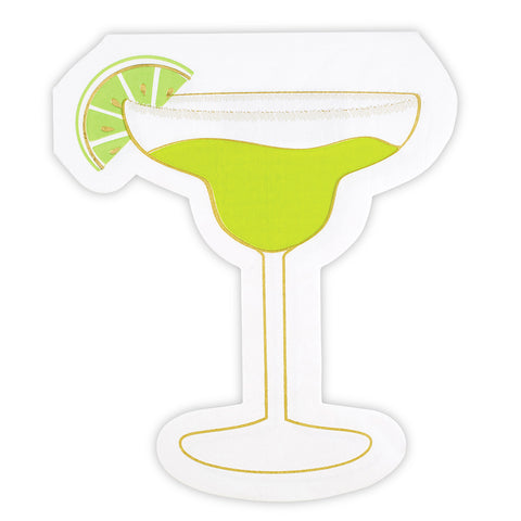 Margarita Shaped Napkin