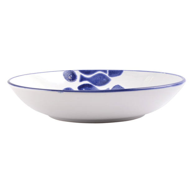 Vietri Santorini Fish Serving Bowl - Medium