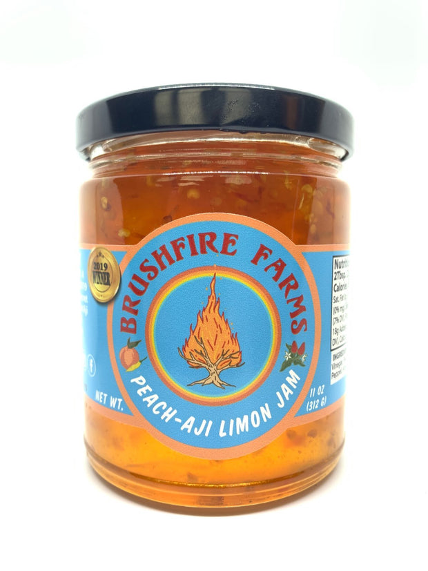 Brushfire Farms Hill Country Heat Peach Aji Limon Jam