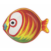 Vietri Pesci Colorati Figural Fish Serving Bowl - Medium